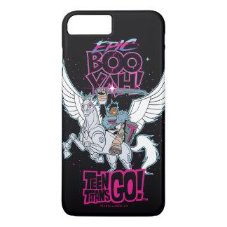 Funda Para iPhone 8 Plus/7 Plus ¡Los titanes adolescentes van! Cyborg del guerrero