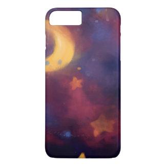 Funda Para iPhone 8 Plus/7 Plus Luna de la galaxia de la fantasía
