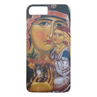 Funda Para iPhone 8 Plus/7 Plus Madre Maria y arte de Jesús