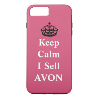 Funda Para iPhone 8 Plus/7 Plus Mantenga tranquilo yo venden AVON