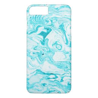 Funda Para iPhone 8 Plus/7 Plus Mármol del azul de océano