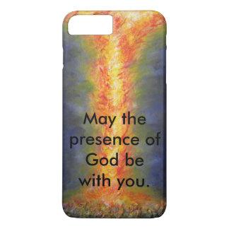 Funda Para iPhone 8 Plus/7 Plus Mayo la presencia de dios esté con usted