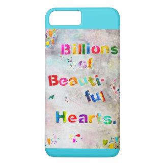Funda Para iPhone 8 Plus/7 Plus Mil millones de los corazones hermosos - iPhone