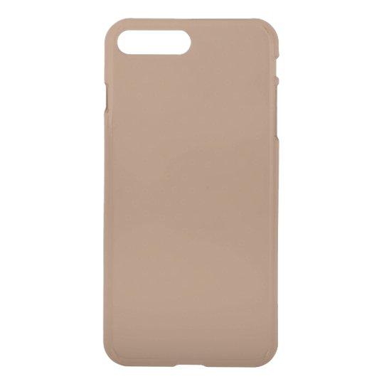 Funda Para iPhone 8 Plus/7 Plus Moca adaptable moderna de color caqui