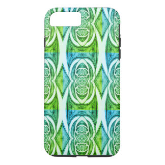 Funda Para iPhone 8 Plus/7 Plus Modelo abstracto verde 2