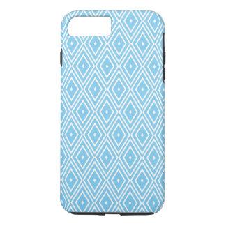 Funda Para iPhone 8 Plus/7 Plus Modelo azul y blanco del diamante