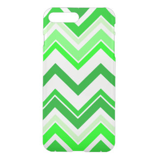 Funda Para iPhone 8 Plus/7 Plus Modelo de Chevron de la verde lima