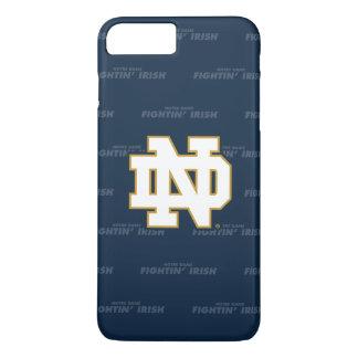 Funda Para iPhone 8 Plus/7 Plus Modelo de repetición de Notre Dame el |