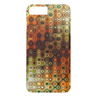 Funda Para iPhone 8 Plus/7 Plus Modelo redondeado colorido de las rayas