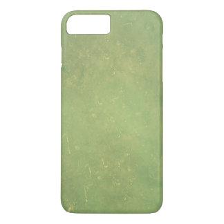 Funda Para iPhone 8 Plus/7 Plus Modelo verde elegante del color sólido del vintage