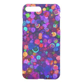 Funda Para iPhone 8 Plus/7 Plus Modelos espirales coloridos lindos del cosmos