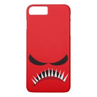 Funda Para iPhone 8 Plus/7 Plus Monstruo enojado con los males de ojo y los