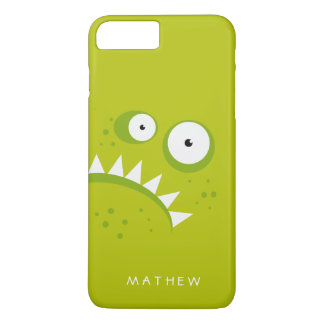 Funda Para iPhone 8 Plus/7 Plus Monstruo verde asustadizo divertido enojado gruñón