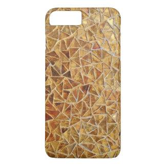 Funda Para iPhone 8 Plus/7 Plus Mosaico del triángulo del oro