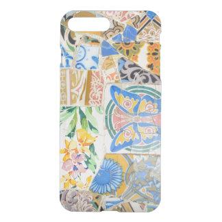 Funda Para iPhone 8 Plus/7 Plus Mosaicos de Guell del parque