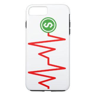 Funda Para iPhone 8 Plus/7 Plus Muestra de dólar común de la carta