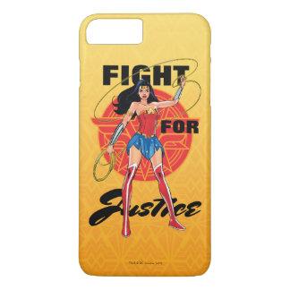 Funda Para iPhone 8 Plus/7 Plus Mujer Maravilla con el lazo - lucha para la