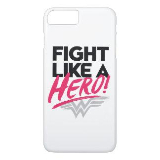 Funda Para iPhone 8 Plus/7 Plus Mujer Maravilla - lucha como un héroe