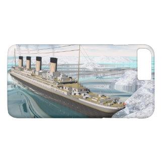 Funda Para iPhone 8 Plus/7 Plus Nave titánica - 3D rinden