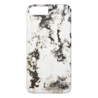 Funda Para iPhone 8 Plus/7 Plus Negro, blanco y plata