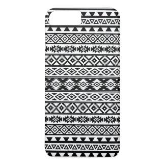 Funda Para iPhone 8 Plus/7 Plus Negro y blanco estilizados aztecas del modelo