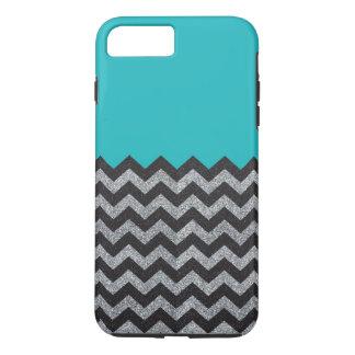 Funda Para iPhone 8 Plus/7 Plus Negro y caso más del iPhone 7 de Chevron del