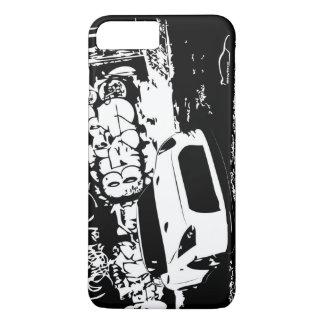 Funda Para iPhone 8 Plus/7 Plus Nissan Skyline GTR con el contexto de la pintada