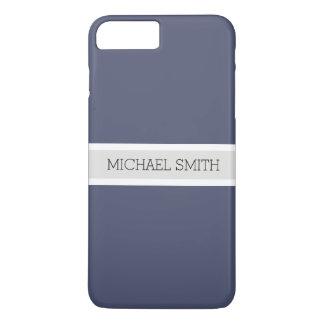 Funda Para iPhone 8 Plus/7 Plus Nombre elegante de la cinta moderna sólida de la