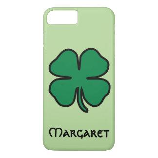Funda Para iPhone 8 Plus/7 Plus Nombre irlandés del caso del iPhone del trébol de