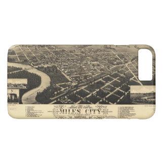Funda Para iPhone 8 Plus/7 Plus Opinión del ojo de pájaro de las millas ciudad,
