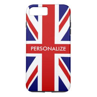 Funda Para iPhone 8 Plus/7 Plus Orgullo inglés de la bandera británica de Union