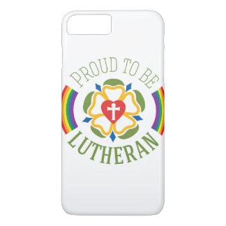 "Funda Para iPhone 8 Plus/7 Plus ""Orgulloso ser caso más del iPhone 7 del Lutheran"""