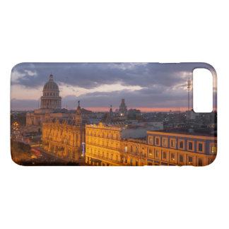 Funda Para iPhone 8 Plus/7 Plus Paisaje urbano en la puesta del sol, La Habana,