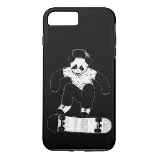 Funda Para iPhone 8 Plus/7 Plus Panda que anda en monopatín