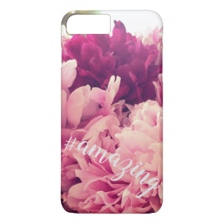Funda Para iPhone 8 Plus/7 Plus Peony asombroso Hashtag Phonecase