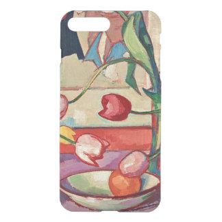 Funda Para iPhone 8 Plus/7 Plus Peploe - tulipanes, el jarro azul