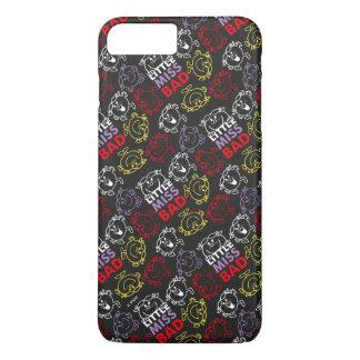 Funda Para iPhone 8 Plus/7 Plus Pequeña Srta. Bad modelo negro, rojo y amarillo