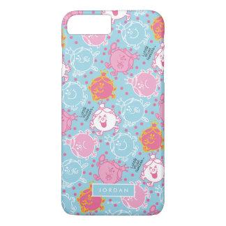 Funda Para iPhone 8 Plus/7 Plus Pequeño modelos rosados de la Srta. princesa   y