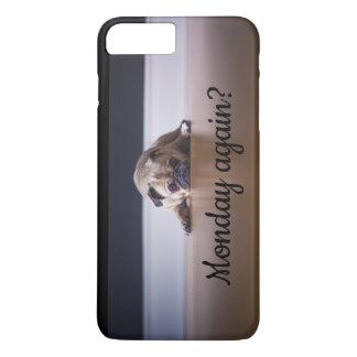 Funda Para iPhone 8 Plus/7 Plus ¿Perro lunes del barro amasado otra vez?