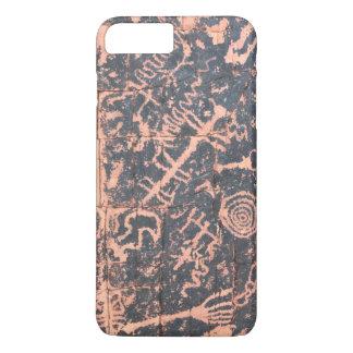 Funda Para iPhone 8 Plus/7 Plus Petroglifos al sudoeste de la caja del teléfono de
