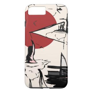 Funda Para iPhone 8 Plus/7 Plus Pintura abstracta, caso de Iphone