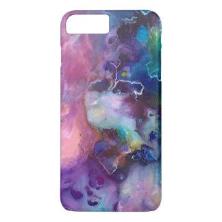 Funda Para iPhone 8 Plus/7 Plus pintura púrpura colorida del modelo de la textura