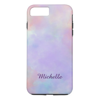 Funda Para iPhone 8 Plus/7 Plus Plantilla en colores pastel suave y serena del