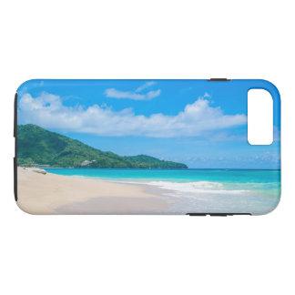 Funda Para iPhone 8 Plus/7 Plus Playa tropical, agua de la turquesa, cielo azul