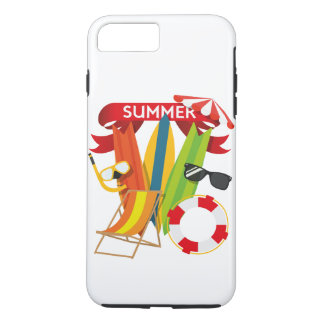 Funda Para iPhone 8 Plus/7 Plus Playa Watersports del verano