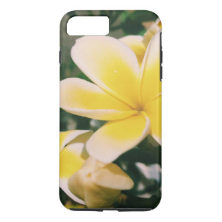 Funda Para iPhone 8 Plus/7 Plus Plumeria amarillo