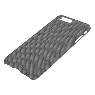 Funda Para iPhone 8 Plus/7 Plus Polímero de la fibra de carbono del negro oscuro y