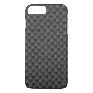 Funda Para iPhone 8 Plus/7 Plus Polímero negro y gris de la fibra de carbono