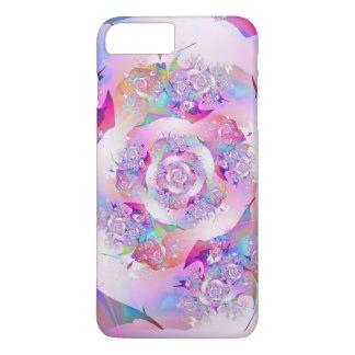 Funda Para iPhone 8 Plus/7 Plus Primer arte fino subió del fractal
