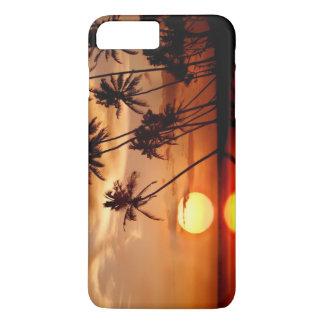 Funda Para iPhone 8 Plus/7 Plus Puesta del sol con los árboles del PAM